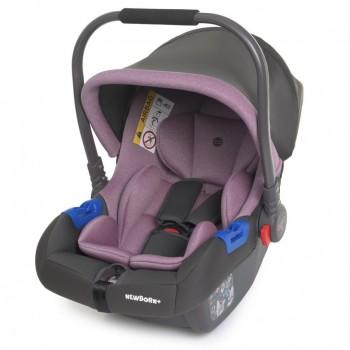 Детское автокресло-переноска. Бебикокон ME 1043 Фиолетовый
