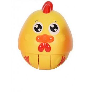 Детская неваляшка Животные WS6105 со звуком (Цыпленок)