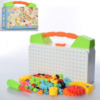Детская мозаика в чемодане 674A, 141 деталь