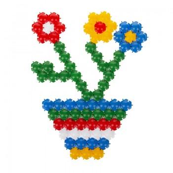 Детская мозаика-пазл №1 1-142, 350 деталей Ø20мм