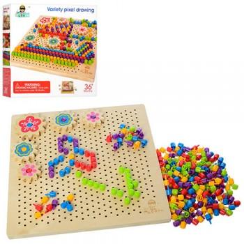 Детская игрушка Мозаика MD 1185 деревянная