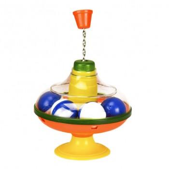 Игрушечная Юла 0190A с шариками