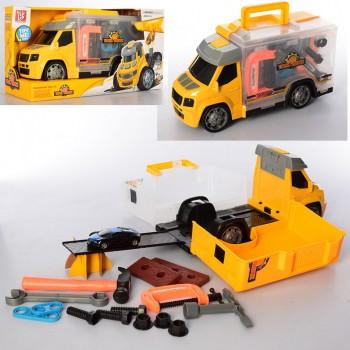 Детский игровой набор инструментов в машинке 289-5 машинка инерционная