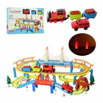 Игровой набор Железная дорога PYK5 со звуковыми эффектами
