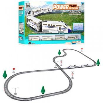 Детская игрушечная железная дорога 2183 со светом и звуком