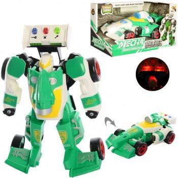 Детский трансформер D622-H04 робот+машинка (Зелёная)