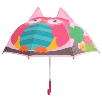 Зонт детский UM52610 трость (Совёнок)