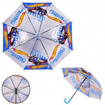 Детский зонт Hot Wheels PL8206 прозрачный