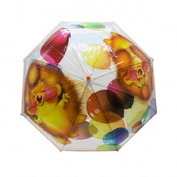 Зонт детский UM530 трость (Ёжик)
