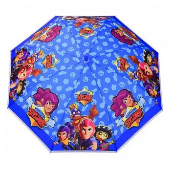 Зонт детский UM523 трость (Синий)