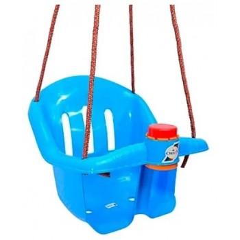 Детские пластиковые качели Orion 757OR подвесные (Синий)