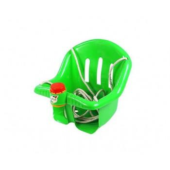 Детские пластиковые качели Orion 757OR подвесные (Зелёный)