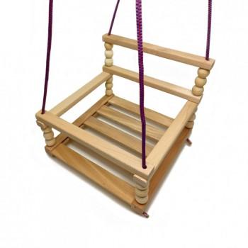 Детские деревянные качели K112