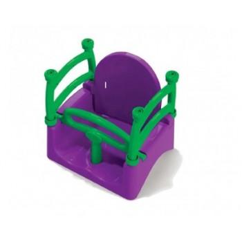 Детские пластиковые качели 0152/5 подвесные
