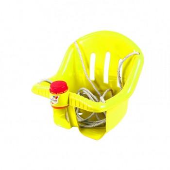 Детские пластиковые качели Orion 757OR подвесные (Жёлтый)