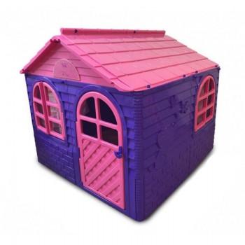 Детский игровой Домик со шторками 02550/1 пластиковый