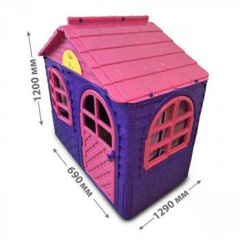 Детский игровой Домик со шторками 02550/10 пластиковый