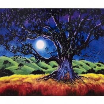 """Алмазная мозаика """"Синее Дерево"""" 30*40"""