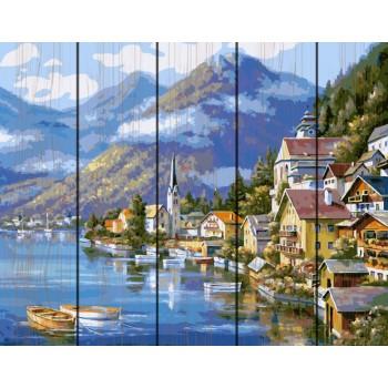 """Rainbow Art """"Живописная Австрия""""40*50см"""