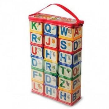 Детские развивающие кубики «English alphabet» 71054, 18 кубиков