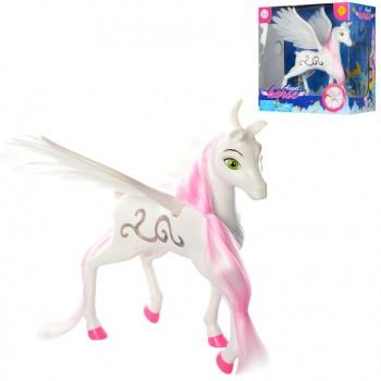 Игрушечная лошадка Пегас DEFA 8325 с крыльями