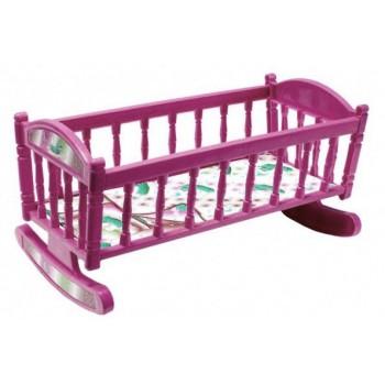 Кроватка для кукол Барби S0013 кроватка-качалка ( S0013(Violet))