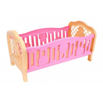 Игрушечная кроватка для куклы 4517TXK, 2 цвета (Розовая)