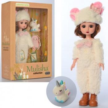 Кукла в плюшевом костюме QJ097B с единорогом