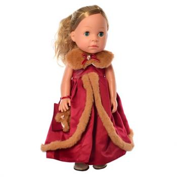 Детская интерактивная кукла M 5414-15-1 обучает странам и цифрам (Red)