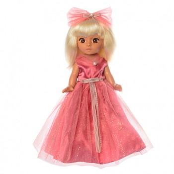 Детская кукла в платье M 3870 с музыкой на укр. языке (Красный)