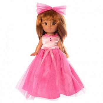 Детская кукла в платье M 3870 с музыкой на укр. языке (Розовый)