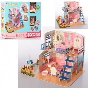 Детская игровая мебель для кукол M0588-20 с детской площадкой