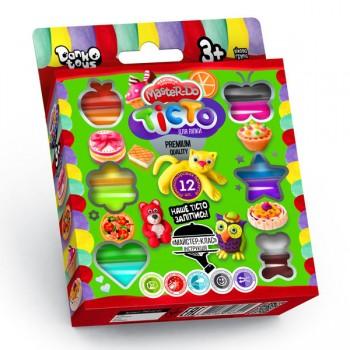 Детское тесто для лепки Master Do 7521DT, 12 цветов