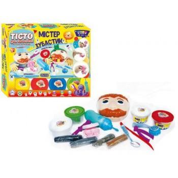 Детский набор теста для лепки Мистер Зубастик 11027, 8 цветов