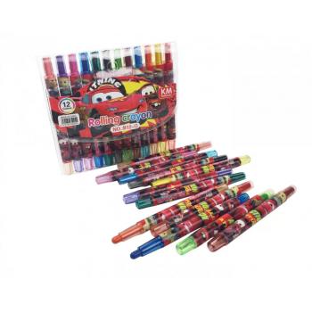 Детские мелки для рисования MK 4392 пастельные  ( 4392-Q (Cars))