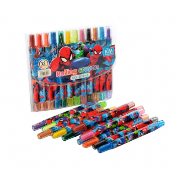 Детские мелки для рисования MK 4392 пастельные  ( 4392-Z (Spider Man))