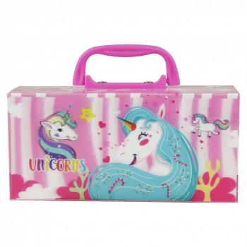 Детский пенал с кодовым замком MK 4412, 6 видов (Unicorns)
