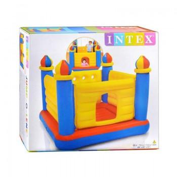 Детский надувной батут «Замок» Intex 48259, 175x175x135