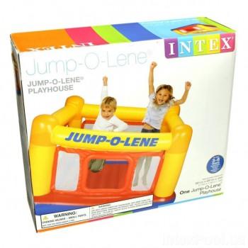 Детский надувной батут «Jump-O-Lene» Intex 48260, 174x174x112