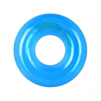 Детский надувной круг 59260 Прозрачный (Голубой)