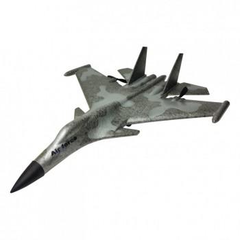 Планер истребитель на р/у J15 время полета 15 мин. (Серый-Хаки)
