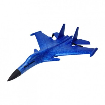 Планер истребитель на р/у J15 время полета 15 мин. (Синий)