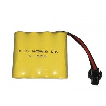 Аккумулятор для детских игрушек Ni-Cd, 4.8V 700 mAh