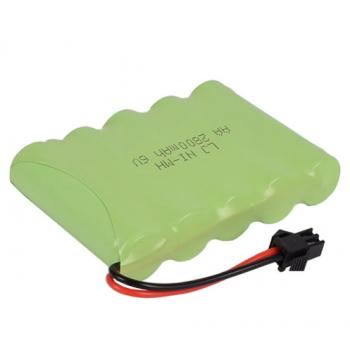 Аккумулятор для детских игрушек Ni-MH 6V 2800 mAh