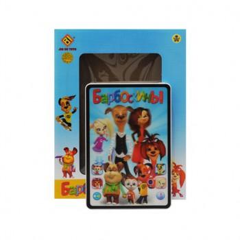 Детский музыкальный планшет Барбоскины JD-A02 со сказками