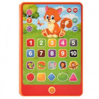 Детский интерактивный планшет SK 0016 на укр. языке (Оранжевый )