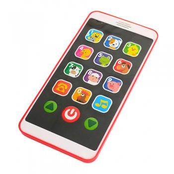 Детский игрушечный телефон M 3487 на укр/англ языках