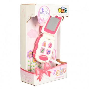 Детский игрушечный телефон 32022G с интерактивом
