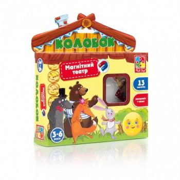 Детская игра настольная Магнитный театр VT3206 на укр. языке (