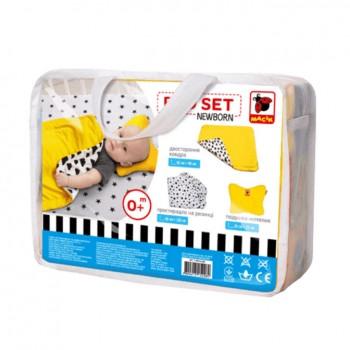 Комплект Bed Set Newborn МС 110512-06 подушка + одеяло + простыня